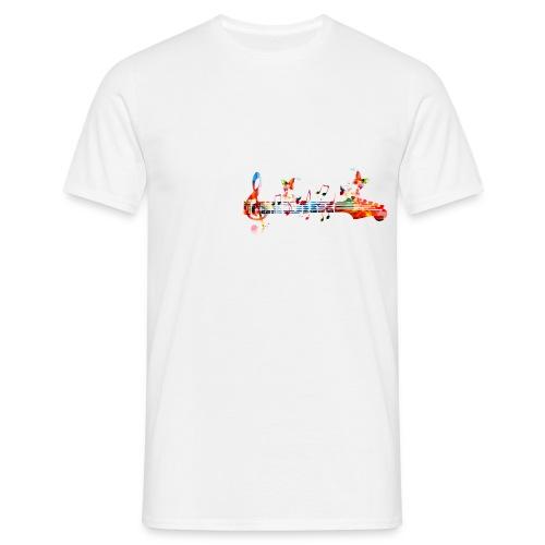 Music Logo - Mannen T-shirt