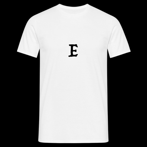 E black - T-shirt Homme