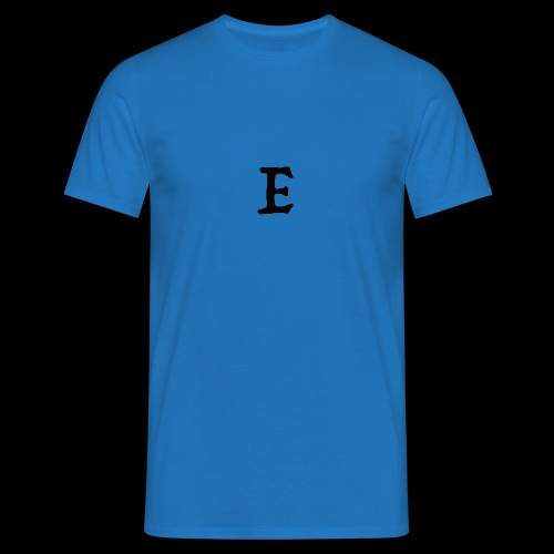 E black - T-shirt Homme