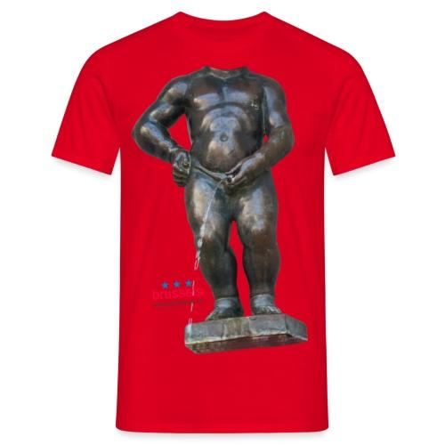 mannekenpis Real Big ♀♂ | 撒尿小童 - T-shirt Homme