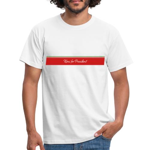 Kimi For President - Kimi Raikkonen White T-Shirt - Men's T-Shirt