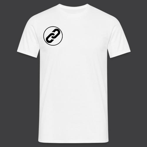 Black Connect Logo png - Men's T-Shirt