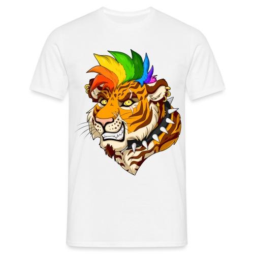 Punk Tiger - Koszulka męska