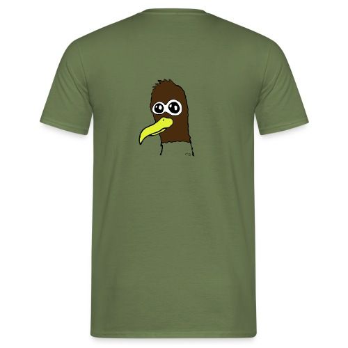 Måge png - Herre-T-shirt