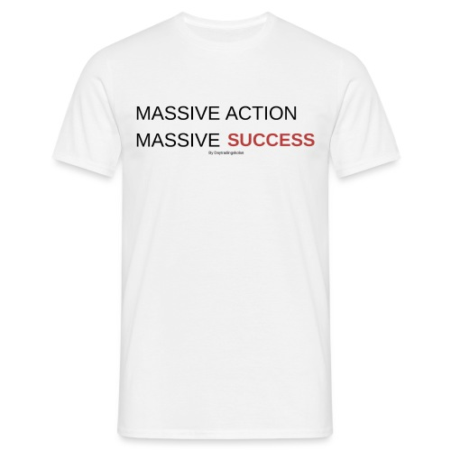 MASSIVE ACTION - T-shirt herr