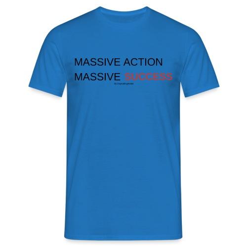 MASSIVE ACTION - T-shirt herr