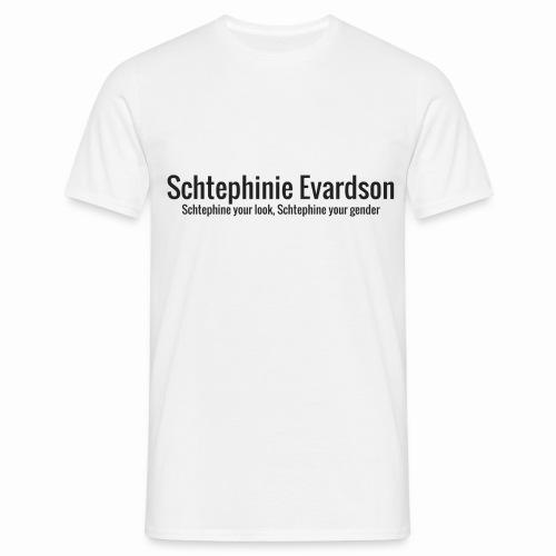 Schtephinie Evardson Classic - Men's T-Shirt