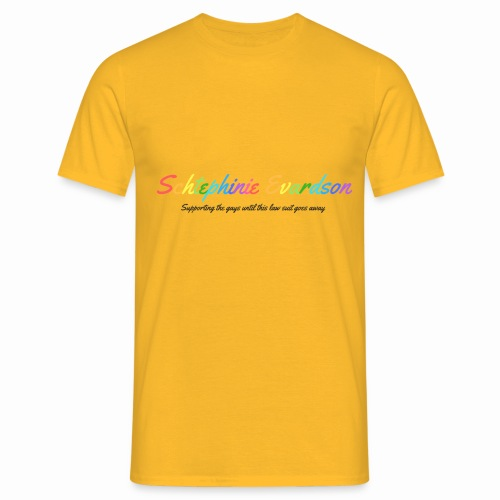 Schtephinie Evardson: Special Edition Gay Pride - Men's T-Shirt