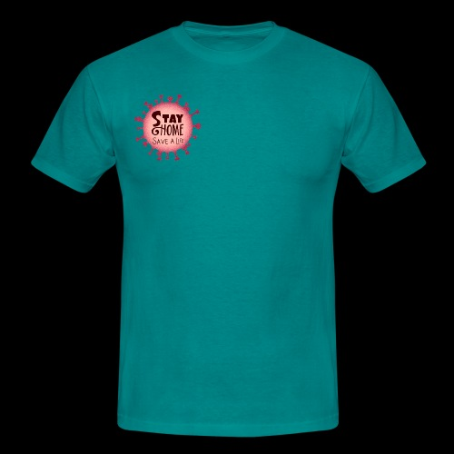 stay at home 5 - Men's T-Shirt