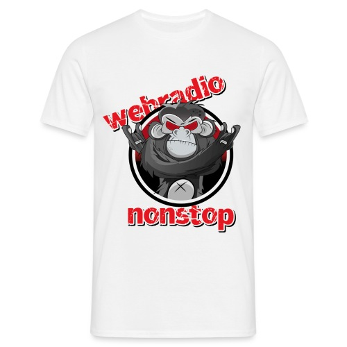 webradio nonstop logo rz png - Männer T-Shirt