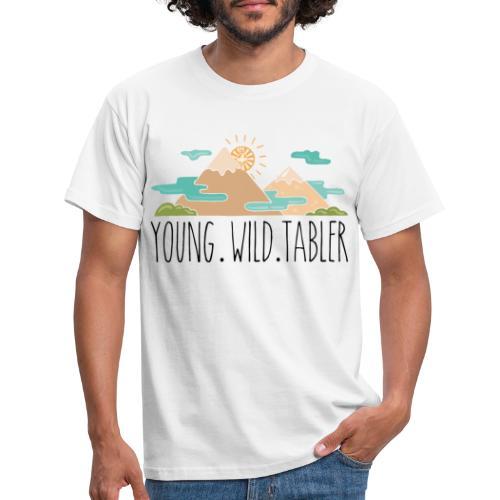 young.wild.tabler - Männer T-Shirt