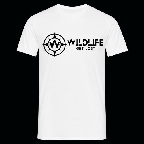 LOGO E SCRITTA WILDLIFE - Maglietta da uomo