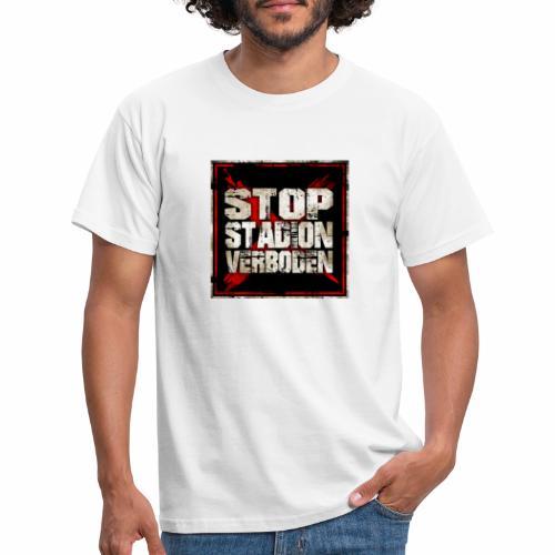 Stop stadionverboden - T-shirt Homme