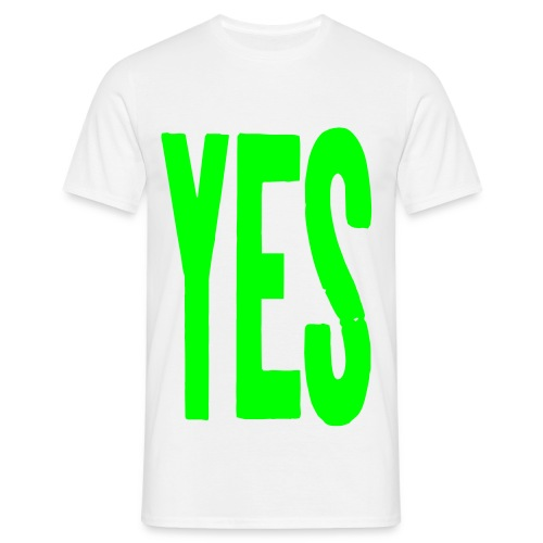 yes2 - Men's T-Shirt