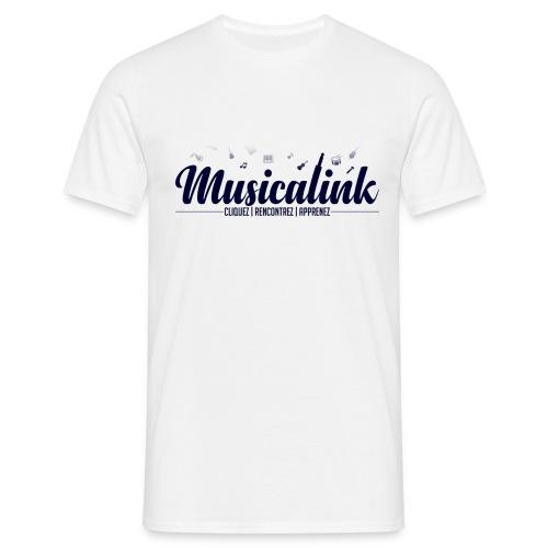 Musicalink blue - T-shirt Homme
