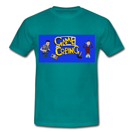 Game Coping Angry Banner - Men's T-Shirt