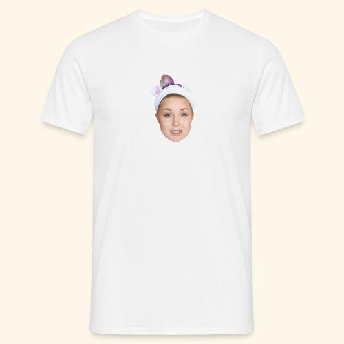 Lisettes face - T-shirt herr