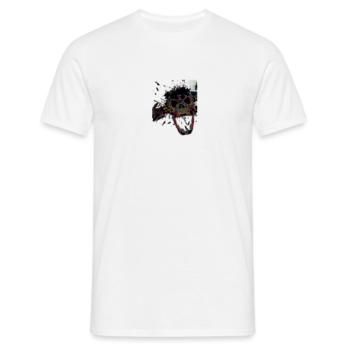 Shot Skull - Men's T-Shirt
