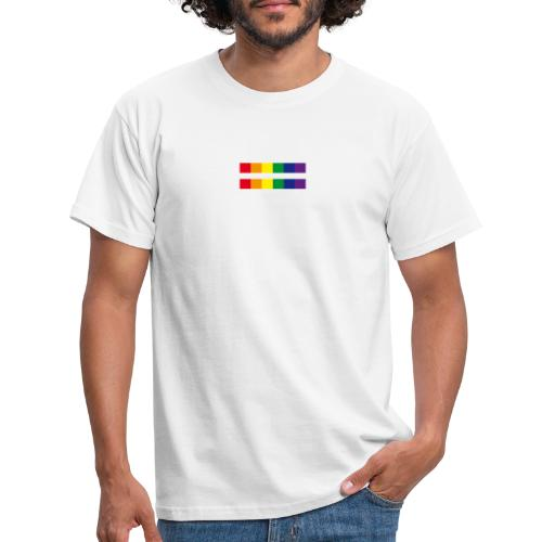 rainbow rectangle - Männer T-Shirt
