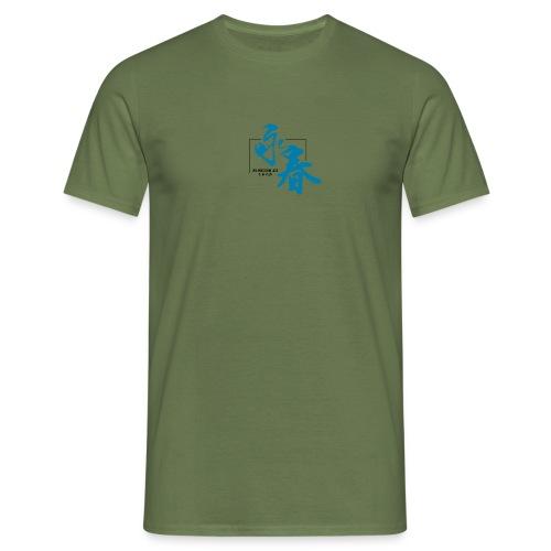 WINGCHUNlugo_logo_s_color - Maglietta da uomo