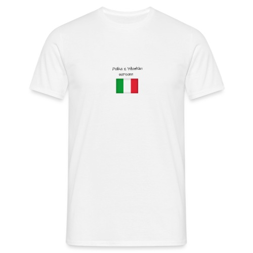 Włosko-polska - Koszulka męska