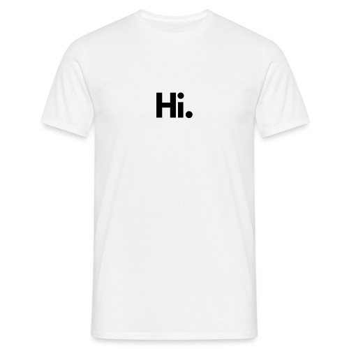 Social Fashion - 'Hi' - Men's T-Shirt