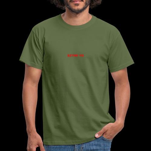 SZYMI YO LOGO - Koszulka męska
