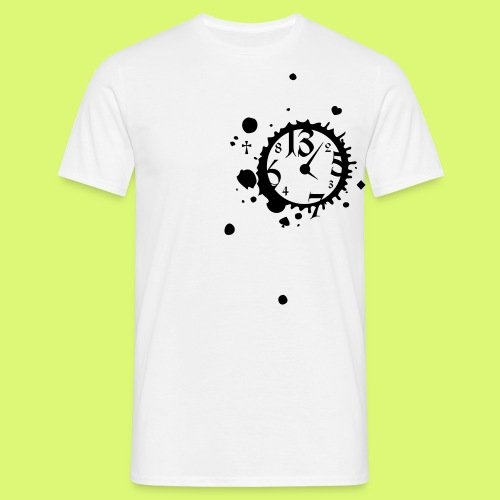 Clock is ticking - T-SHIRT / VERSCH. FARBEN - Männer T-Shirt