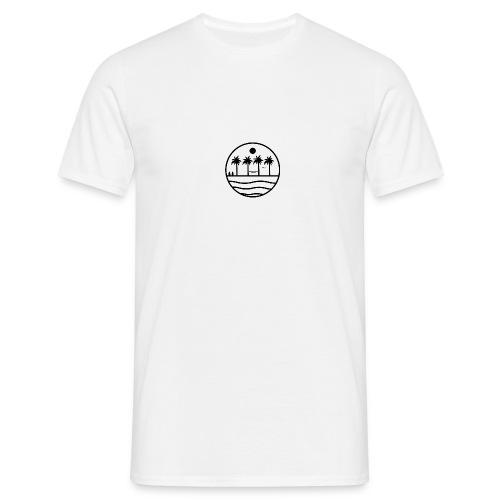 zon zee strand - Mannen T-shirt