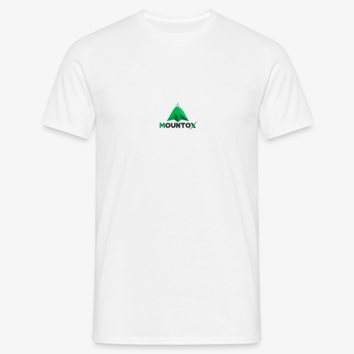 Mountox Black - Mannen T-shirt