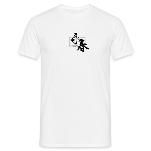 WINGCHUNlugo_logo_s - Maglietta da uomo