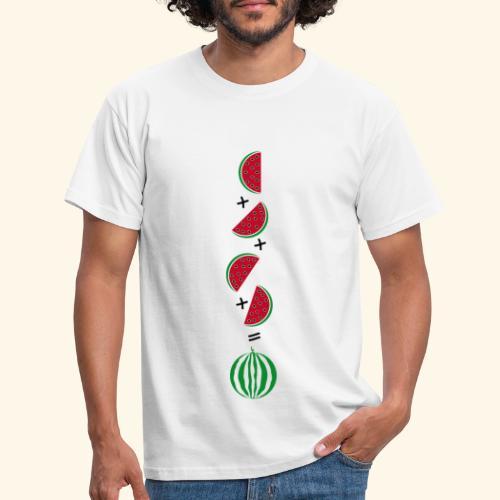 Un cuarto de sandía - Camiseta hombre