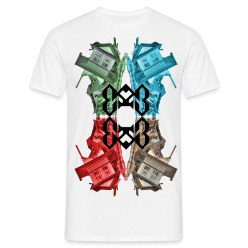 Häuser - Männer T-Shirt