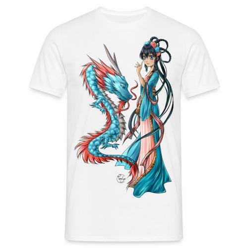Blue Dragon - T-shirt Homme