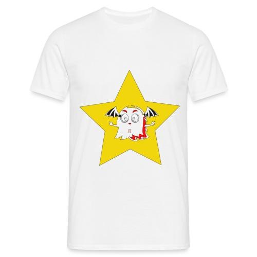spooky in star - Mannen T-shirt