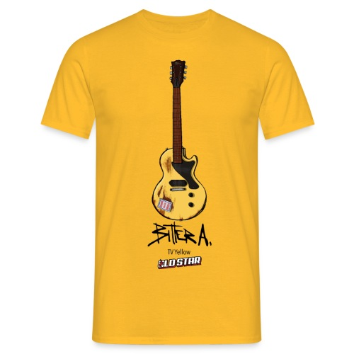 Bitter Yellow Guitar - Camiseta hombre