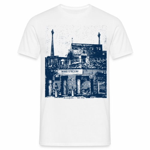 lowfieldsblue002 - Men's T-Shirt