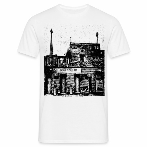 lowfieldsblack002 - Men's T-Shirt