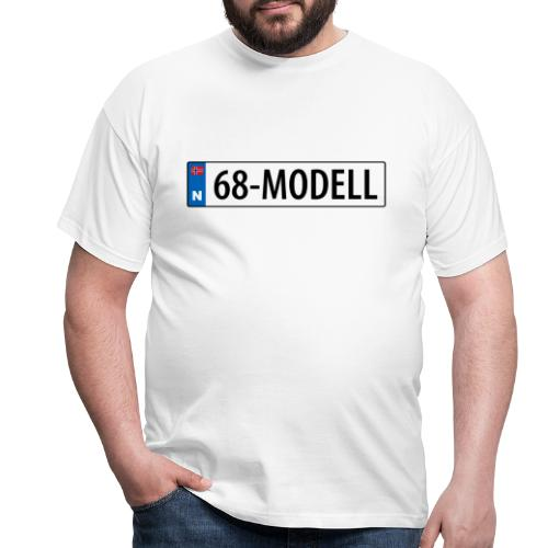 68-modell kjennemerke - T-skjorte for menn