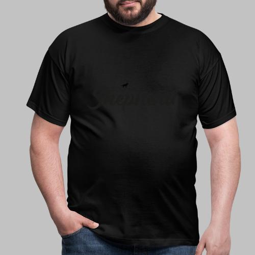 LOVE MY SHEPHERD - Black Edition - Dog Lover - Männer T-Shirt