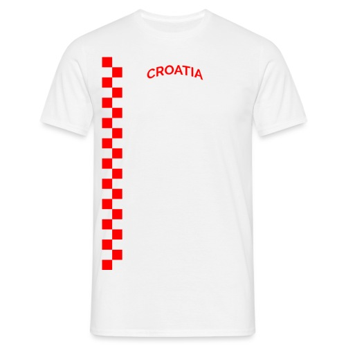 Šahovnica Croatia - Men's T-Shirt