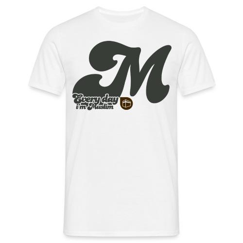 everydayimmuslim gris - Men's T-Shirt