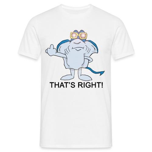 stingrayblack - T-skjorte for menn