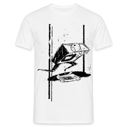SUB CULT Smash TV Black - Men's T-Shirt