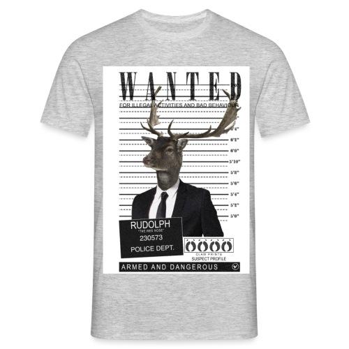 Rudolph wanted - Miesten t-paita