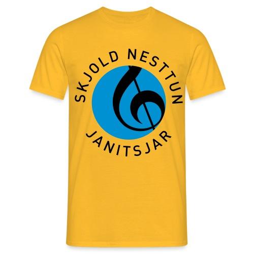 NYNYSNJ MVJ LOGO SORT TE - T-skjorte for menn