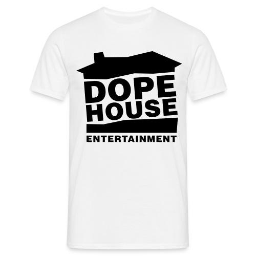 Dope House Logo Hellgrau - Männer T-Shirt
