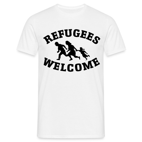 Refugees Welcome - T-shirt Homme