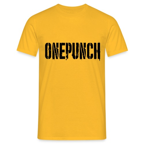 Boxing Boxing Martial Arts mma tshirt one punch - Men's T-Shirt