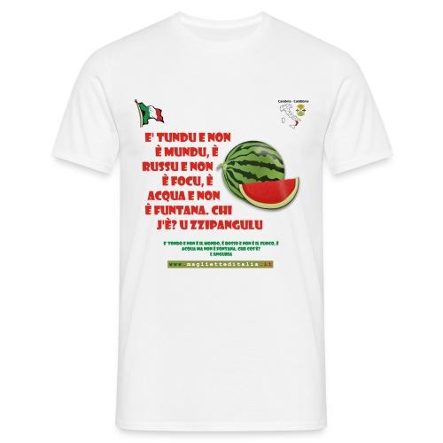 calabria u zzipangulu - Maglietta da uomo